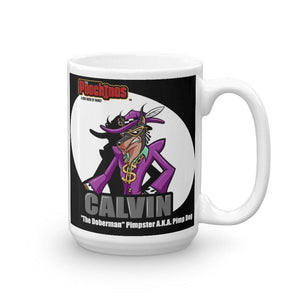 Pimp Dog Spotlight Mug Mugs Printful 15oz