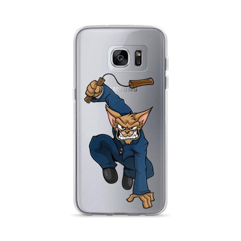 "Image of Vinny ""The Chi"" Nunchucks Samsung Case Phone Cases Printful Samsung Galaxy S7 Edge"