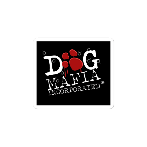 Image of Dog Mafia Inc Sticker - Dog Mafia Gear