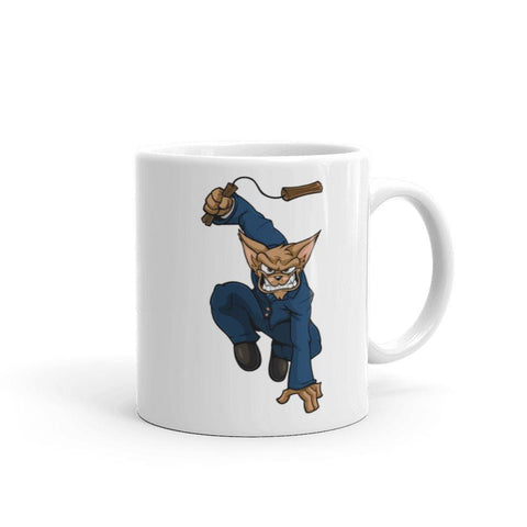 "Image of Vinny ""The Chi"" Nunchucks Mug Mugs Printful 11oz"