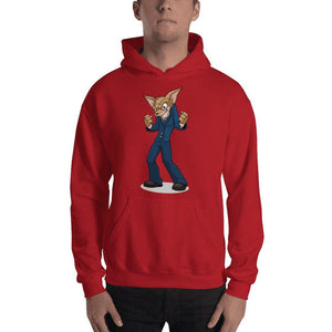 "Vinny ""The Chi"" Hooded Sweatshirt Hoodies Printful Red S"