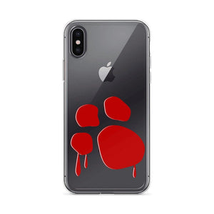 Bloody Paw iPhone Case Phone Cases Printful iPhone X/XS