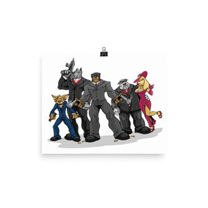 Poochinos Family Poster Posters Printful 8×10