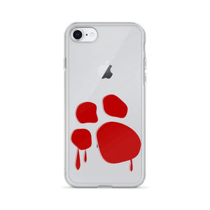 Bloody Paw iPhone Case Phone Cases Printful iPhone 7/8