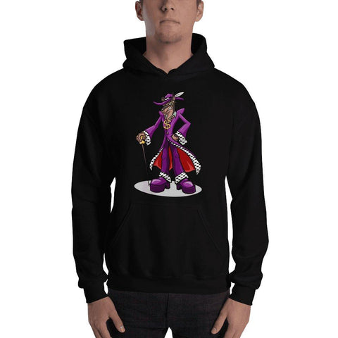 Pimp Dog Hooded Sweatshirt Hoodies Printful Black S