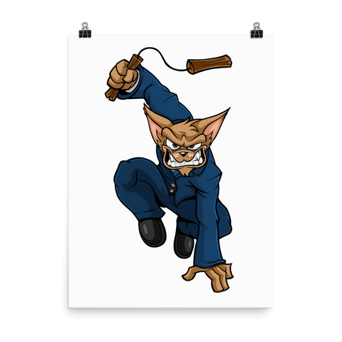 "Image of Vinny ""The Chi"" Nunchucks Poster - Dog Mafia Gear"