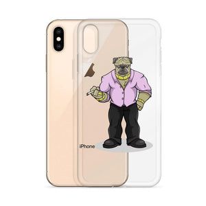 "Pugsy ""The Pug Boss"" iPhone Case Phone Cases Printful"