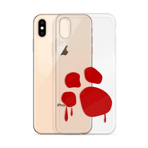 Bloody Paw iPhone Case Phone Cases Printful