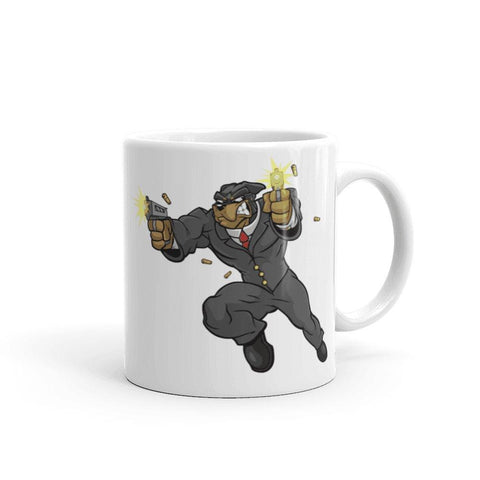 "Image of Tony ""The Rott"" Guns Mug Mugs Printful 11oz"