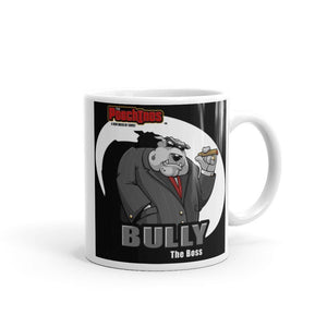 "Bully ""The Boss"" Spotlight Mug Mugs Printful 11oz"