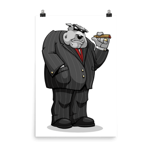 "Bully ""The Boss"" Poster - Dog Mafia Gear"