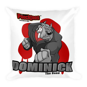 "Dominick ""The Dane"" Bloody Paw Basic Pillow Pillows Printful Default Title"