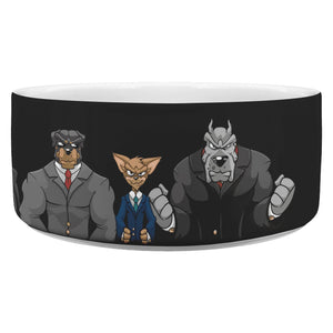 Dog Mafia Inc Dog Bowl Dog Bowls teelaunch