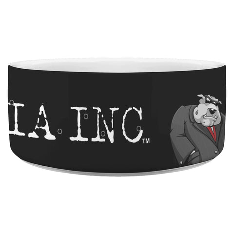 Image of Dog Mafia Inc Dog Bowl Dog Bowls teelaunch