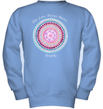 """Do Less, Focus More"" Girls Fleece Shirt"