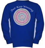 Just Keep Winning Girl's Pullover Fleece