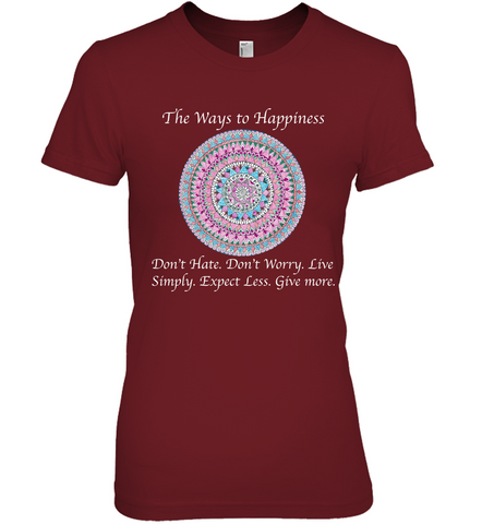 """The Ways to Happiness"" T-shirt"