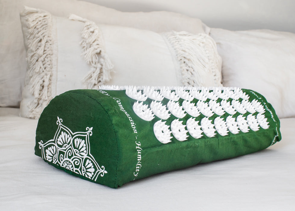 Shakti Acupressure Pillow Green