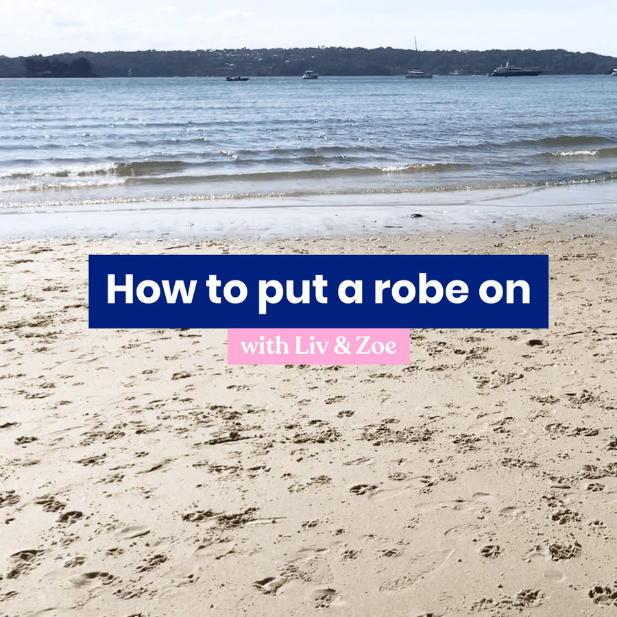 How to put on a zoh robe