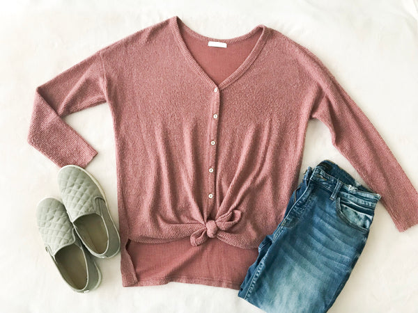 Soft Knot Top
