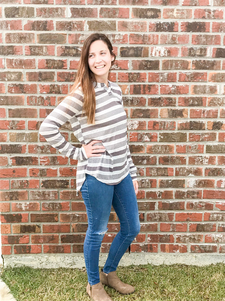 Casual Striped Tee