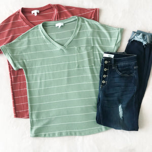 Soft & Striped Tee