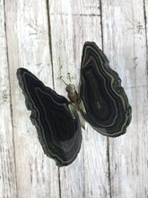 Load image into Gallery viewer, Agate Slice Butterfly