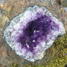 Load image into Gallery viewer, Amethyst Geode Crystal Cluster