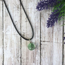 Load image into Gallery viewer, Fluorite Tumbled Stone Pendant