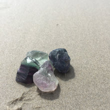 Load image into Gallery viewer, Fluorite Rough Stone Small