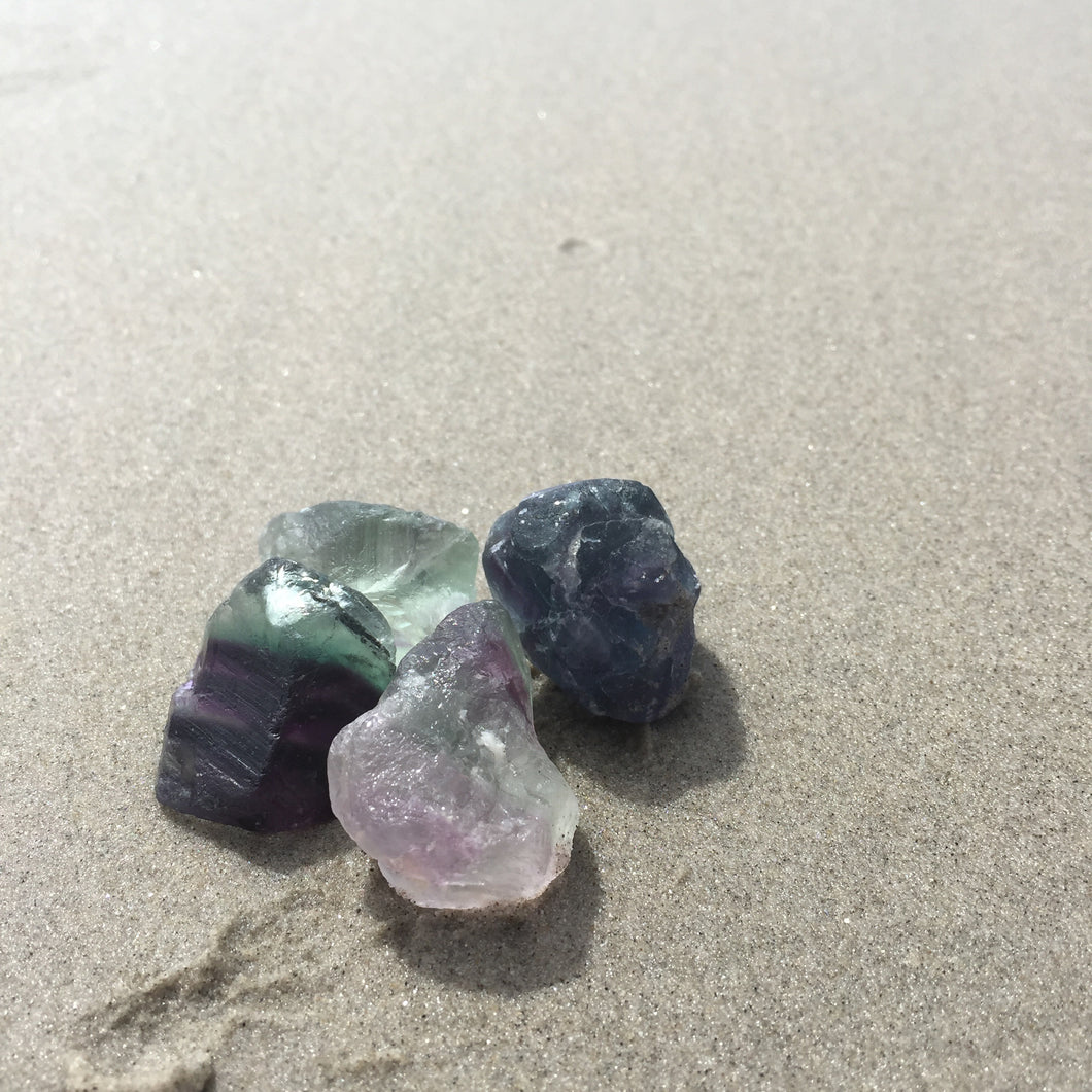 Fluorite Rough Stone Small