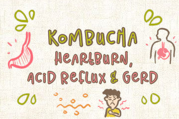 Kombucha on Heartburn, Acid Reflux, and GERD | What's The Problem?