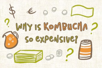 Why Is Kombucha So Expensive? The Drinker's Guide