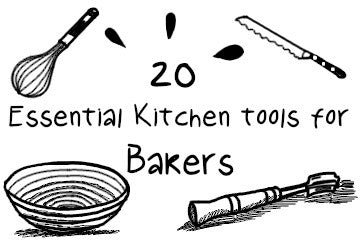20 Essential Kitchen Tools for Bakers | The Complete Guide