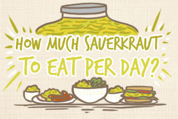How Much Sauerkraut To Eat Per Day? Complete Guide