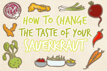 How To Change The Taste Of Your Sauerkraut? For All Tastes