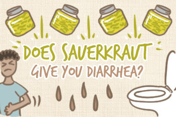 does_sauerkraut_give_you_diarrhea_illustration