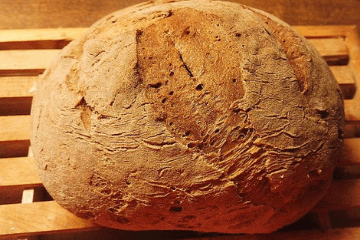 fresh_baked_buckwheat_bread