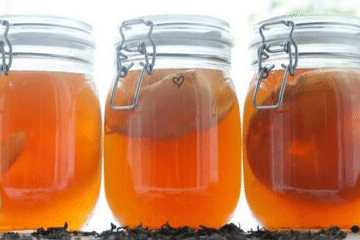 kombucha_in_mason_jars