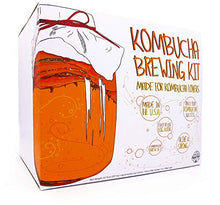 Load image into Gallery viewer, Kombucha Starter Kit: SCOBY, Tea, Jar, Manuals