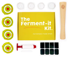 Load image into Gallery viewer, Complete 13 Piece Fermentation Kit  [Free Guide + Bonus Gift]