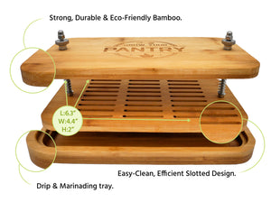 Quick Drip Bamboo Tofu Press™ [Free Guide + Bonus Gift]