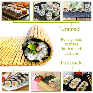 Sushi13™ - Sushi Making Kit [Easy & Fun To Make All Types Of Sushi]