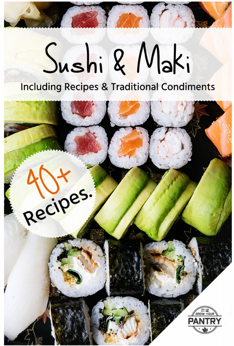 The Essential Guide To Sushi E-Book