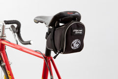 Super Hero Kit for Road Cycling: w/ pump, tube & bag