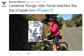 "Rider Story - ""Lanterne Rouge"" (Anna's Story)"