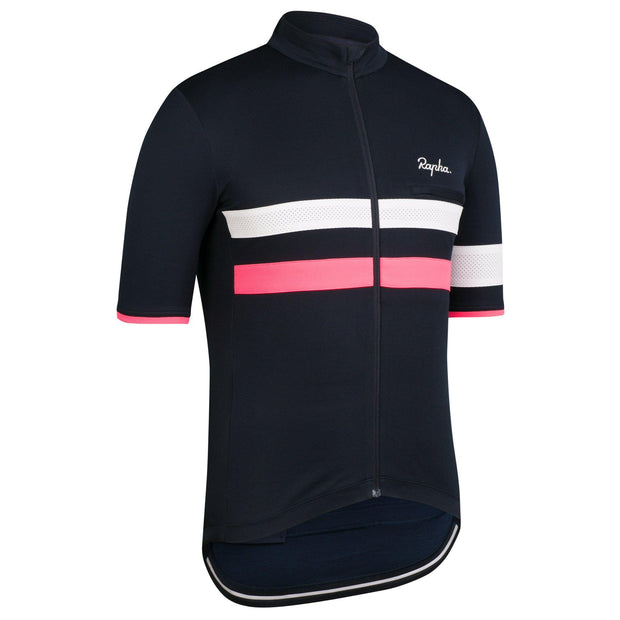 Brevet Jersey - Dark Navy/High-Vis Pink