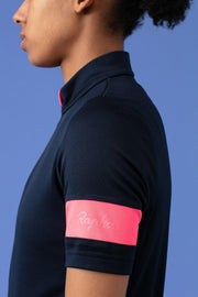 Women's Classic Jersey - Navy/High-Vis Pink