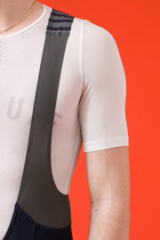 Pro Team Bib Shorts II Regular - Black/White
