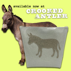 Glitter Donkey Sleepover Travel Bag by Julie Mollo